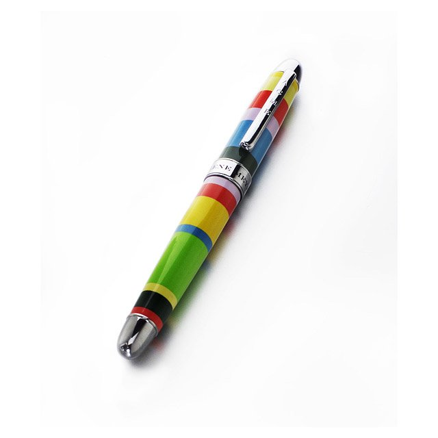Gene Meyer Horizontal Striped Pen