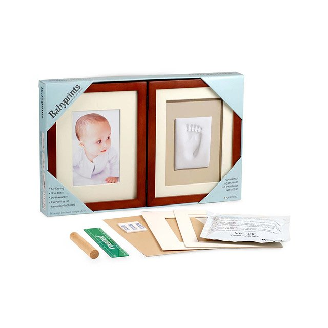 Tabletop Babyprints Keepsake