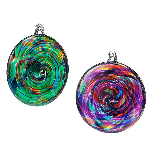 Spiral Suncatchers