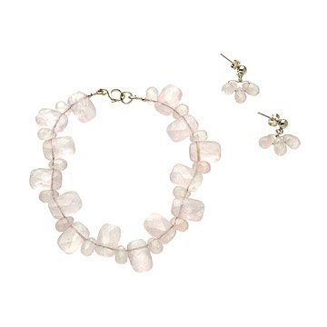 rose quartz jewelry
