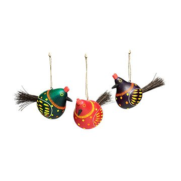 chicken gourd ornaments set