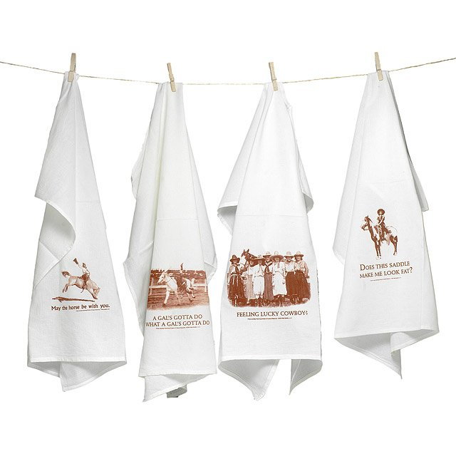 Cowgirl Kitchen Towels