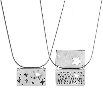 Starry Friends Necklace by Kathy Bransfield