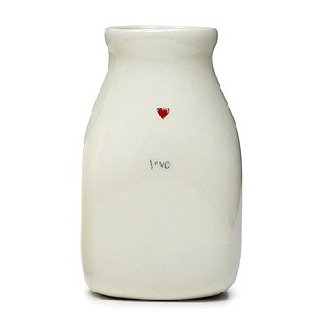 Ceramic Love Vase
