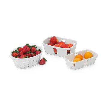 Ceramic Colander And Baskets