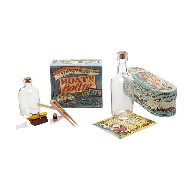 Message And Boat In A Bottle Sets
