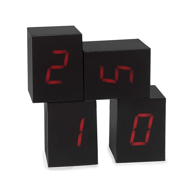 Numbers LED Alarm Clock