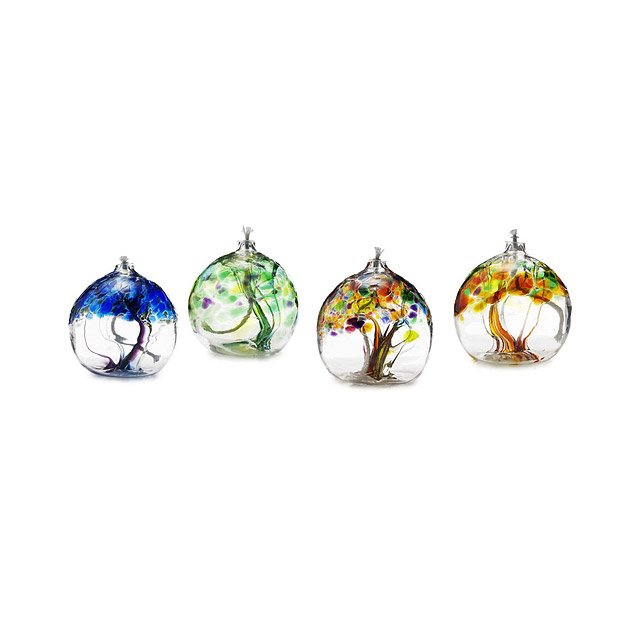 Tree of Enchantment Glass Oil Burners