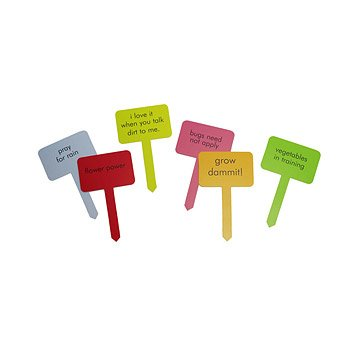 Cheeky Garden Markers - Set of 6