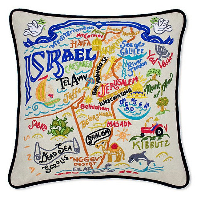 Hand Embroidered Country Pillows 3