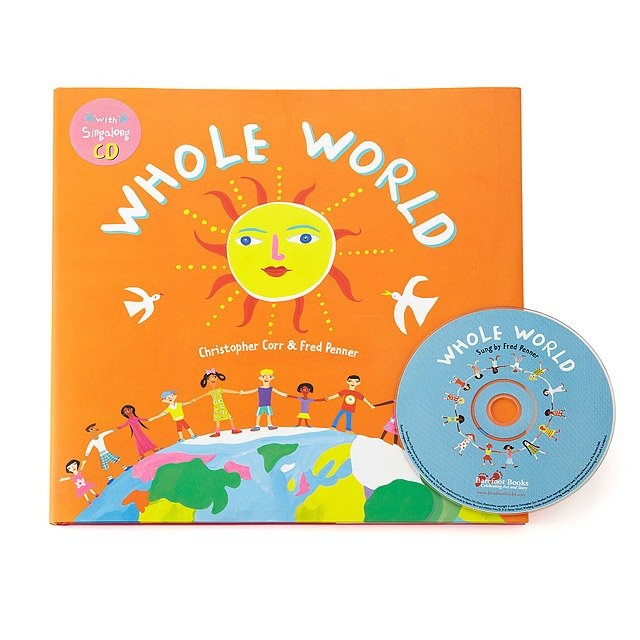 Whole World Book With CD