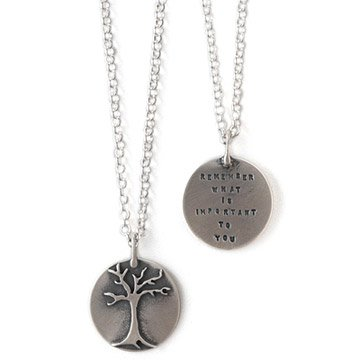'Remember What Is Important' Necklace
