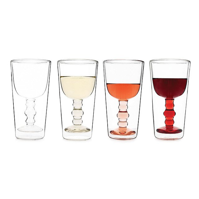 Illusion Wine Glasses - Set of 4