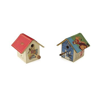 Pooh and Oz Birdhouses