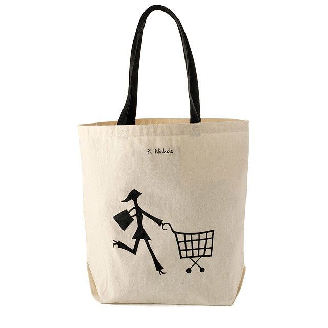 100% Recycled Cotton Shopper Tote