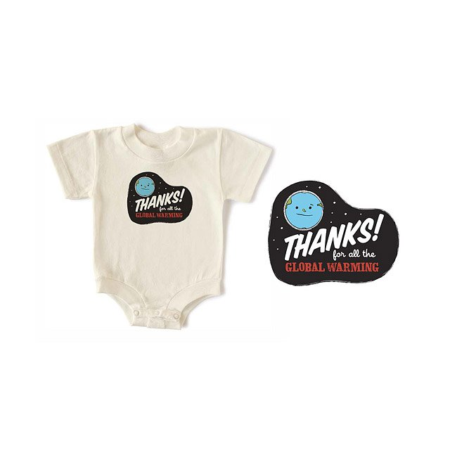 Global Warming Babysuit
