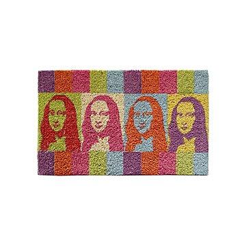 Mona Lisa Door Mat