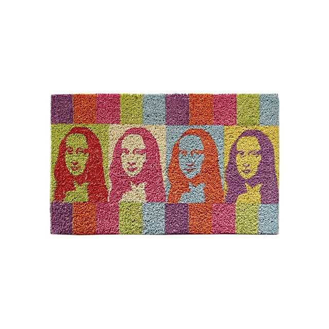 Mona Lisa Door Mat