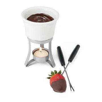Belgian Chocolate Fondue for Two