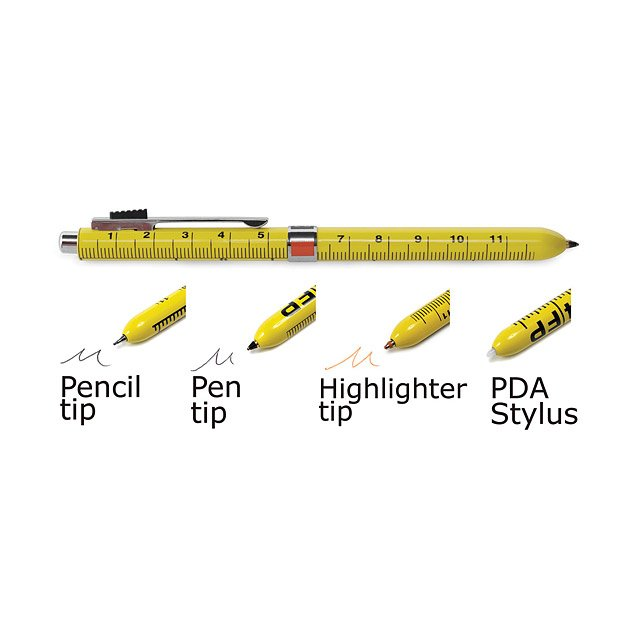 4 Function Ruler Pen