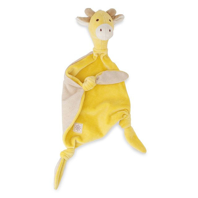 Organic Cotton Giraffe Lovie/Blankie