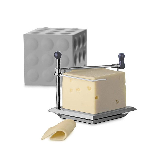 Cheese Slicer with Grey Cap