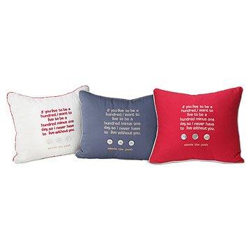 Organic Cotton Pooh Pillows
