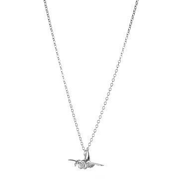 Origami Mini Crane Necklace