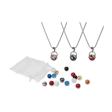 Interchangeable Marble Necklace