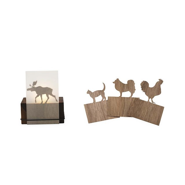 Animal Silhouette Tealight Holder