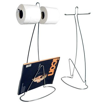 Loo Read Toilet Paper & Magazine Holder