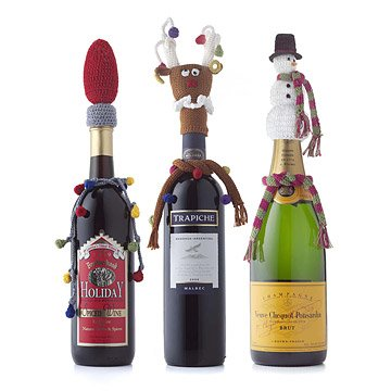 Holiday Bottle Toppers