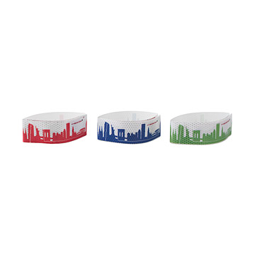 NYC Skyline Leg Bands For Biking