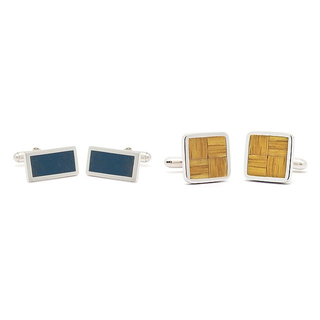Reclaimed Basketball Court Cufflinks