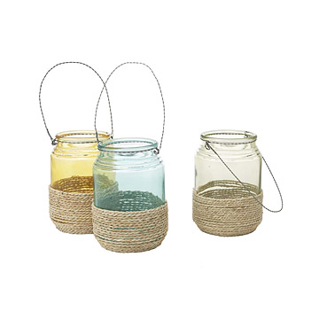 Hanging Rope Lanterns