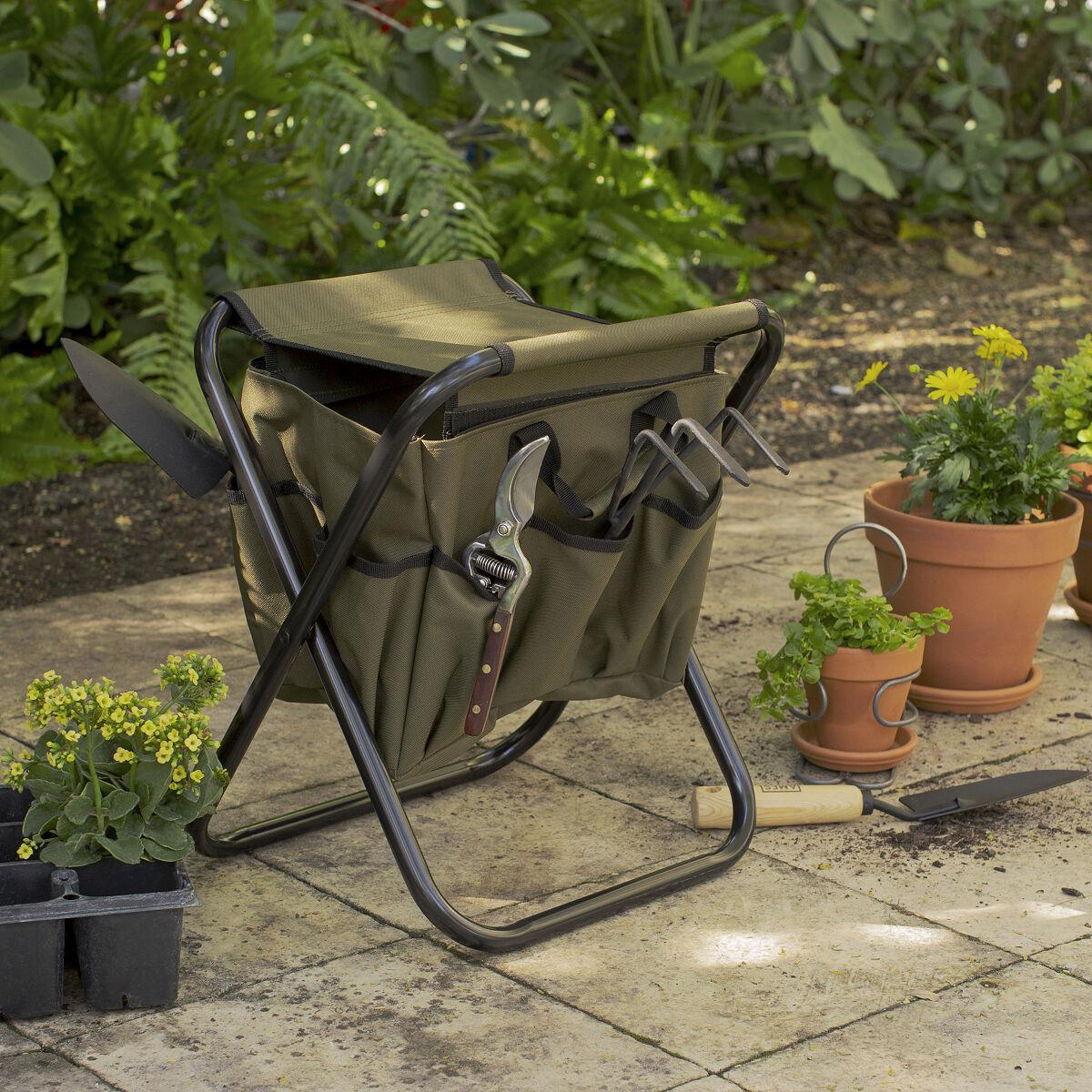 Gardener S Tool Seat Tool Seat Garden Work Stool