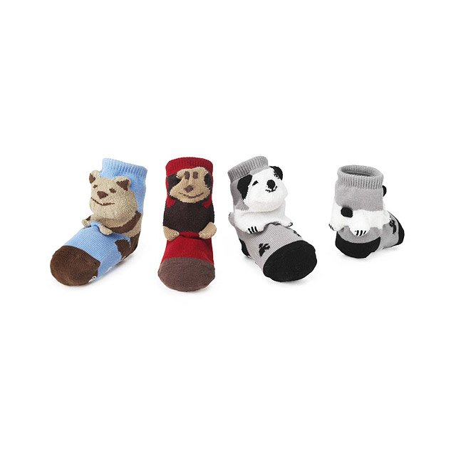 Puppet Socks: Puppy, Teddy & Monkey
