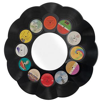 LP Record Mirrors