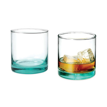 Recycled Auto Glass - Old-Fashioned Glasses