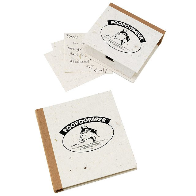 Horse Poo Paper: Note Box & Journal