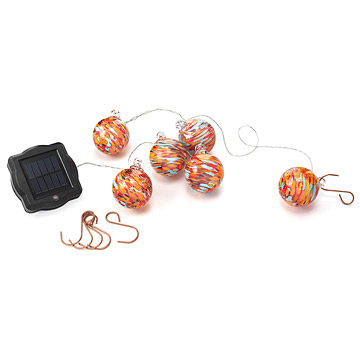 Solar Powered String Lights In Nectar