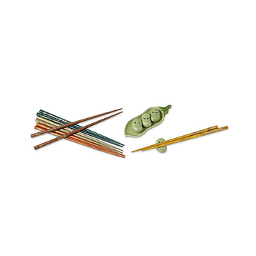 Chopstick Rest & Chopsticks