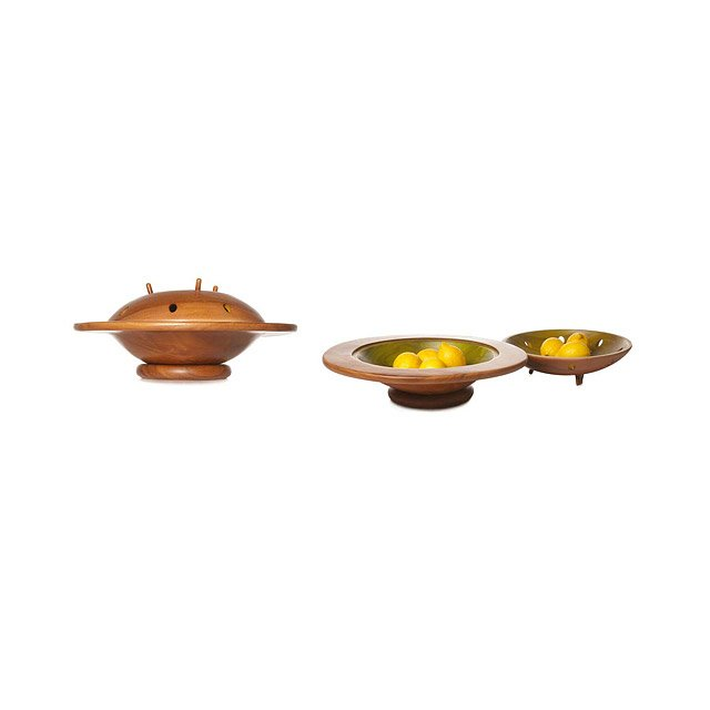 Spaceship Serving Bowl