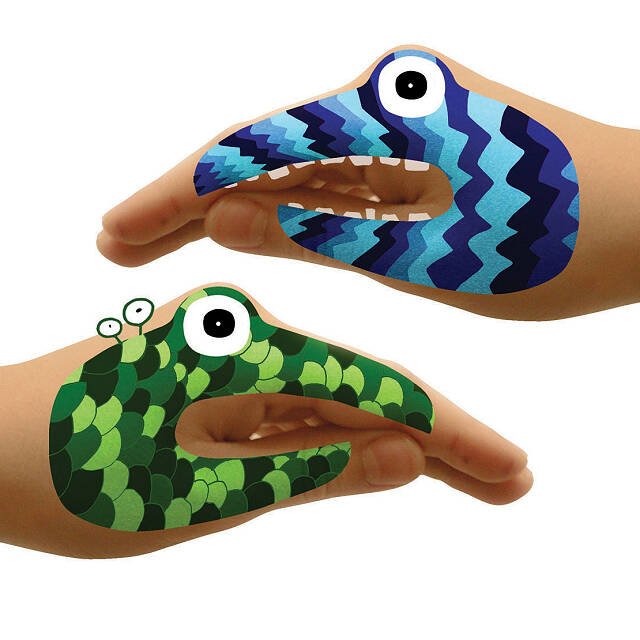 Animal & Monster Hand Tattoo Sets 8