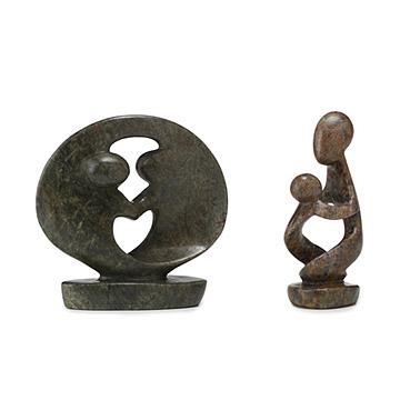 Serpentine Stone Sculptures
