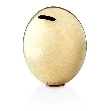 Golden Ostrich Egg Bank