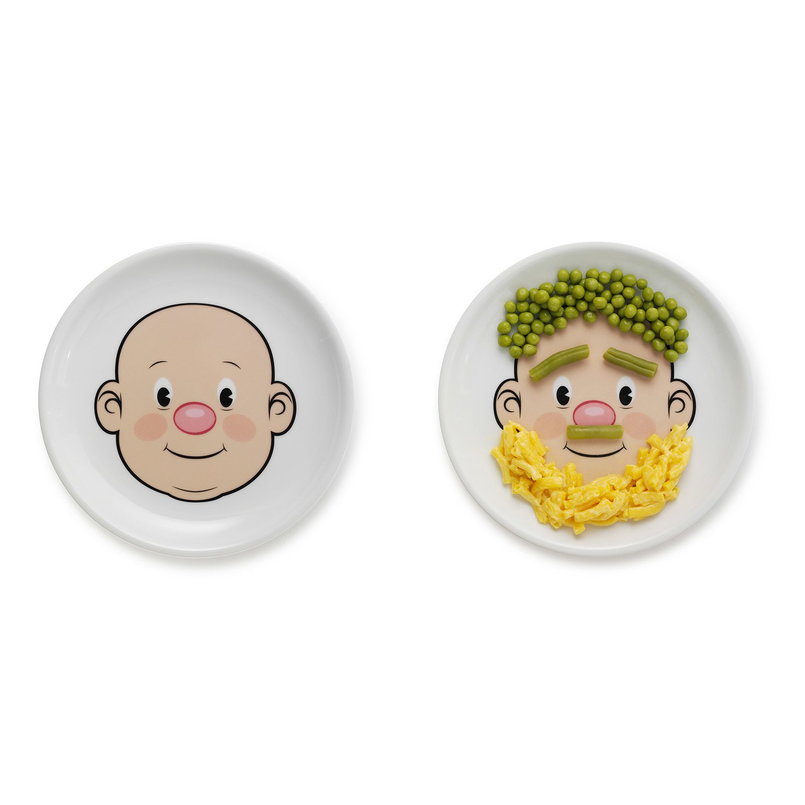 Mr. Food Face Plate | Fun Plate for Kids, Wooly Willy