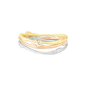Willow Stackable Wedding Rings