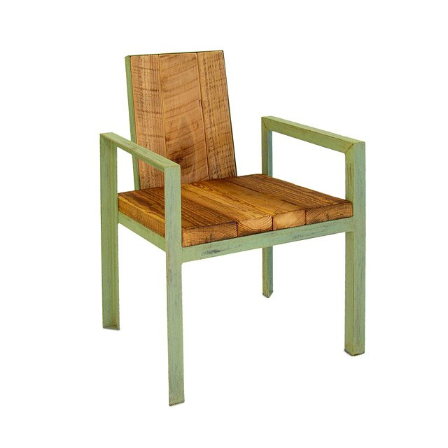 Reclaimed Wood Outdoor Chair
