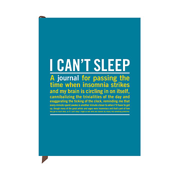I Can't Sleep Journal